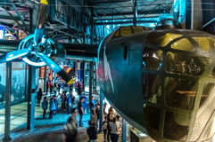 Warsaw Uprising Museum. One of the exhibition halls at the Warsaw Uprising Museum - Warsaw, Poland Stock Photography