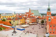 Warsaw. View from above Stock Photography
