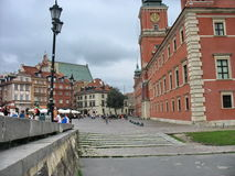 Warsaw. Walk around Warsaw summer day royalty free stock photo