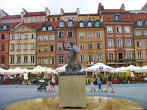 Warsaw. Walk around Warsaw summer day stock images