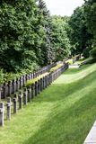 Warsaw War Cemetery in Poland. Monument Stock Photography