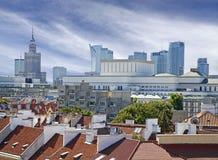 Warsaw (Warszawa) city modern downtown, Poland. Royalty Free Stock Photo