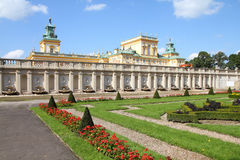 Warsaw - Wilanow Royalty Free Stock Photography