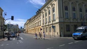 Warschau Stock Foto's