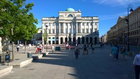 Warschau Stock Foto