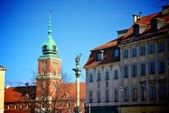 Warschau-alte Stadt Stockfotos