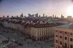 Warschau-alte Stadt Stockbilder