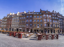 Warschau - alter Marktplatz Lizenzfreie Stockfotografie