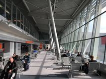 Warschau-Flughafen Stockfotografie