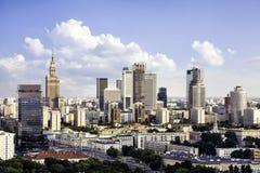 Warschau im Stadtzentrum gelegen Stockfoto