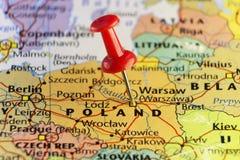 Warschau-Kapitol von Polen Stockfotografie