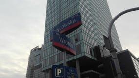 Warschau-Kreuzung Lizenzfreies Stockfoto