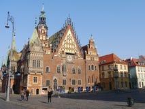 Warschau-Marktplatz Polen stockbilder