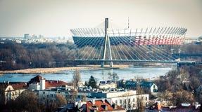 Warschau-Nationalstadion Stockfoto