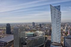 Warschau Polen Royaltyfria Foton