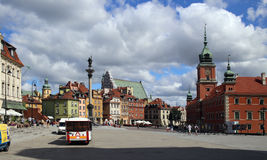 Warschau, Polen. Die alte Stadt Lizenzfreie Stockfotografie