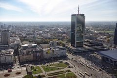 Warschau Polonia Immagine Stock Libera da Diritti