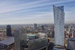 Warschau Polonia Fotografie Stock Libere da Diritti
