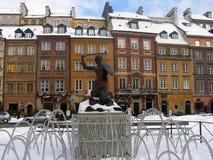Warschau-Sirene Stockfoto