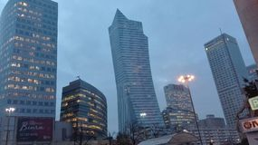 Warschau-Skyline Stockfotografie