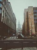 Warschau-Stadt Lizenzfreie Stockfotos