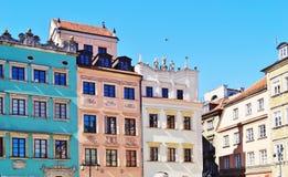 Warschau, Stolica Polski Stock Fotografie