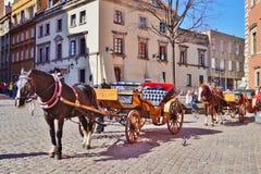 Warschau, Stolica Polski Stockfoto