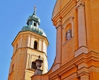Warschau, Stolica Polski Stock Afbeeldingen