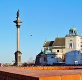 Warschau, Stolica Polski Royalty-vrije Stock Afbeeldingen