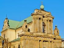 Warschau, Stolica Polski Stock Afbeelding