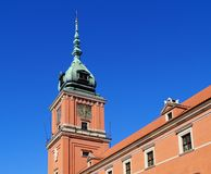 Warschau, Stolica Polski Royalty-vrije Stock Foto's