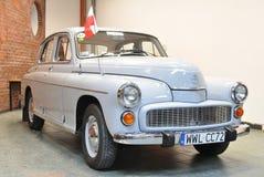 Warschau - uitstekende auto Stock Afbeelding