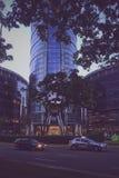Warschau-Wolkenkratzer Lizenzfreies Stockbild