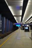 Warschau-zentraler Bahnhof stockfotos