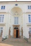 warshau Het Paleis Myslewicki in Lazienki-Park Royalty-vrije Stock Foto