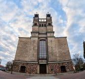 Warshau, Polen - April 14, 2016: Roman Catholic Parish van St Therese het Kind Jesus Royalty-vrije Stock Afbeelding