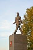 Warshau, Polen Een monument aan de voorzitter van Stock Foto