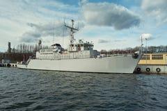 The warship. Royalty Free Stock Photos