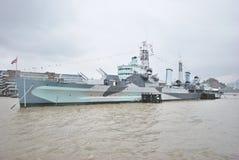 Warship Royalty Free Stock Images