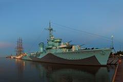 Warship Stock Image