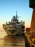 Warship Royalty Free Stock Photo