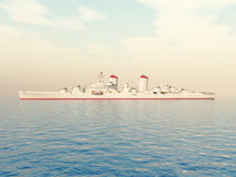 warship Foto de Stock Royalty Free