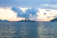 warship Foto de archivo