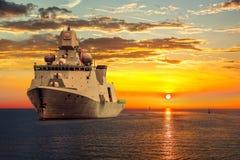 warship Fotografia de Stock