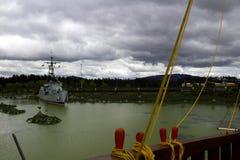 warship Стоковое Изображение RF