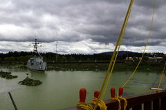 warship Imagem de Stock Royalty Free