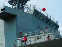 warship Fotografia Stock Libera da Diritti