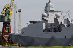warship Imagens de Stock