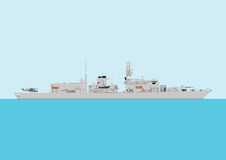 Warship Stock Images