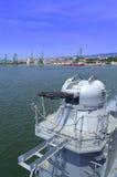 Warship gun Royalty Free Stock Image